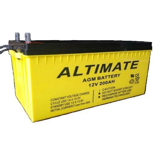 Altimate 200AH Altimate AGM Inverter Battery - German-Technology