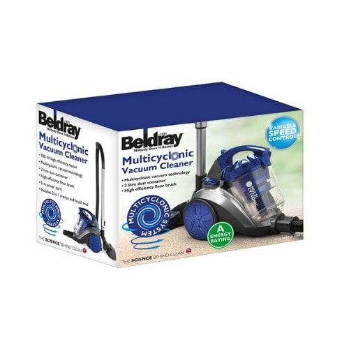 Beldray Multi-cyclonic Cylinder Vacuum Cleaner