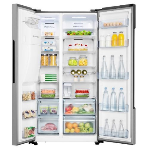 Hisense 535L Side By Side Refrigerator + Ice & Water Dispenser 70WS