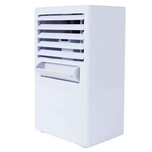 Portable Air Conditioner Fan Mini Evaporative Air Cooler - White 4.3 out of 5