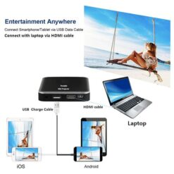 Smartldea DLP Mini Mobile Projector With Rechargeable Battery