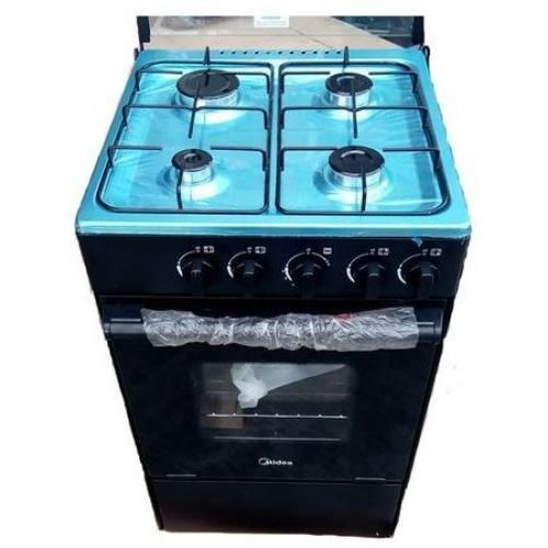Midea 4 Burner Gas Cooker With Oven And Grill