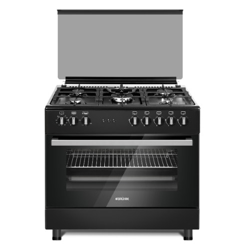 Bruhm 90 X 60cm, 5 Gas Burner Cooker With Gas Oven