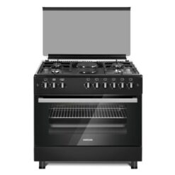 Bruhm 4 Gas Burners + 2 Electric Cooker - 90 X60
